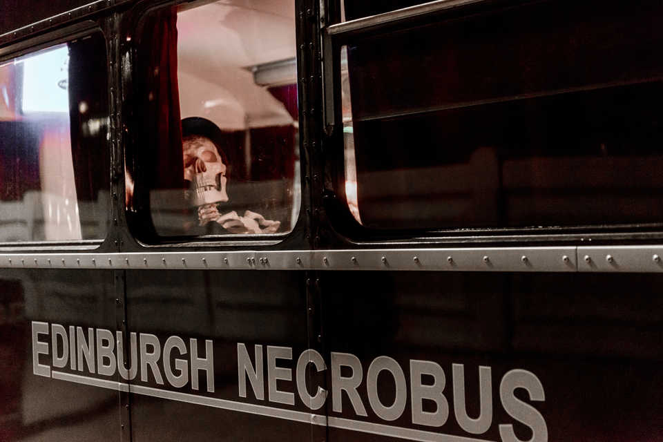Edimburgo The Ghost Bus Tour