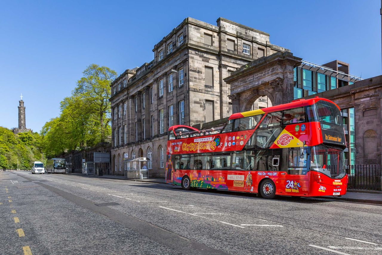 Edimburgo tour sull'autobus hop-on hop-off