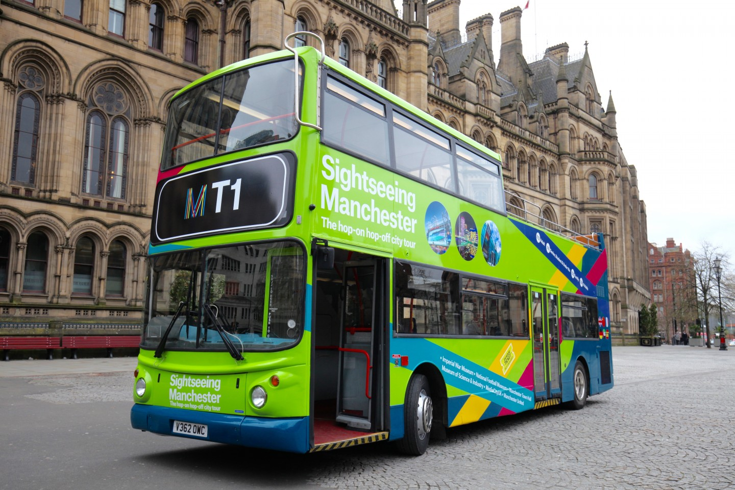 Manchester Tour sull'autobus Hop-on Hop-off